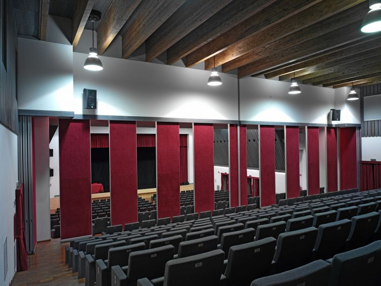 Auditorio en Italia